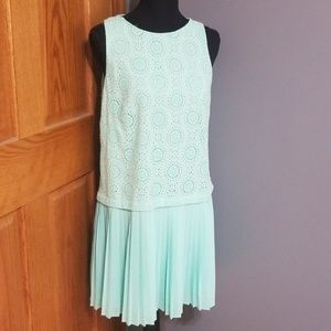 Loft Mint Flapper Style Dress